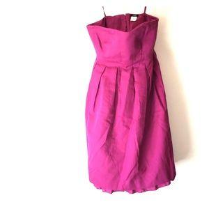 JCREW Magenta color dress